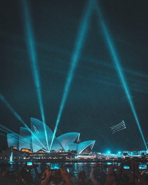 Free stock photo of australia day, neon, sydney