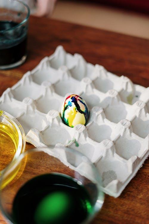 Tie Dye Easter Egg