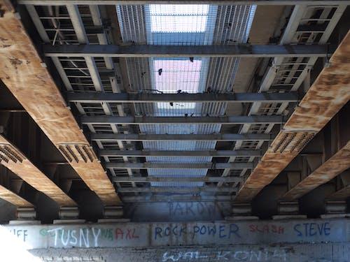 Imagine de stoc gratuită din construcții metalice, direct, graffiti, pod