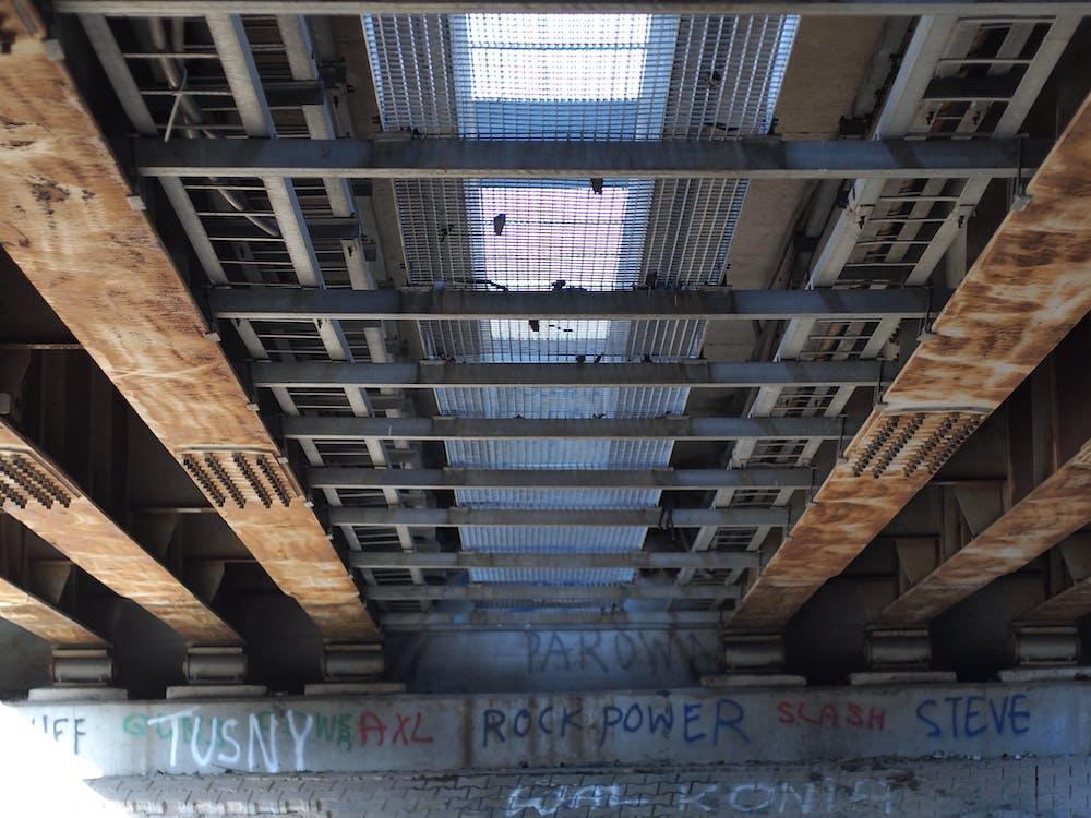 городской, граффити, металлическая конструкция