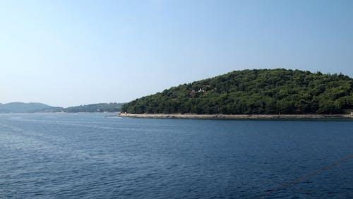 Бесплатное стоковое фото с chroatia, залив, зеленый остров, корнати