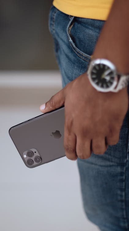 Person Holding Black Iphone 11