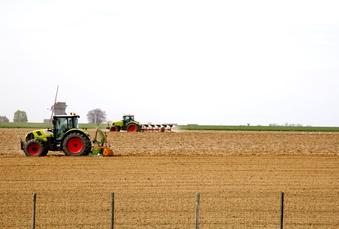 Free stock photo of agricultural machine, farm, farmers