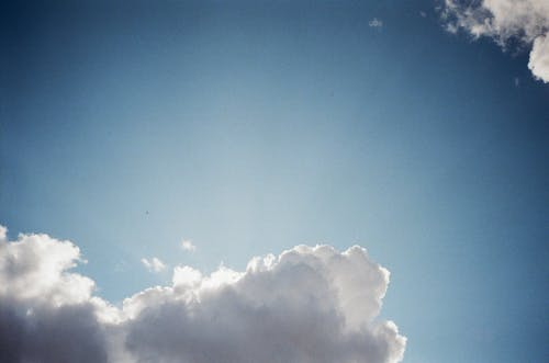 Gratis stockfoto met 35 milimeter, 35 mm film, analoge fotografie, blauwe lucht
