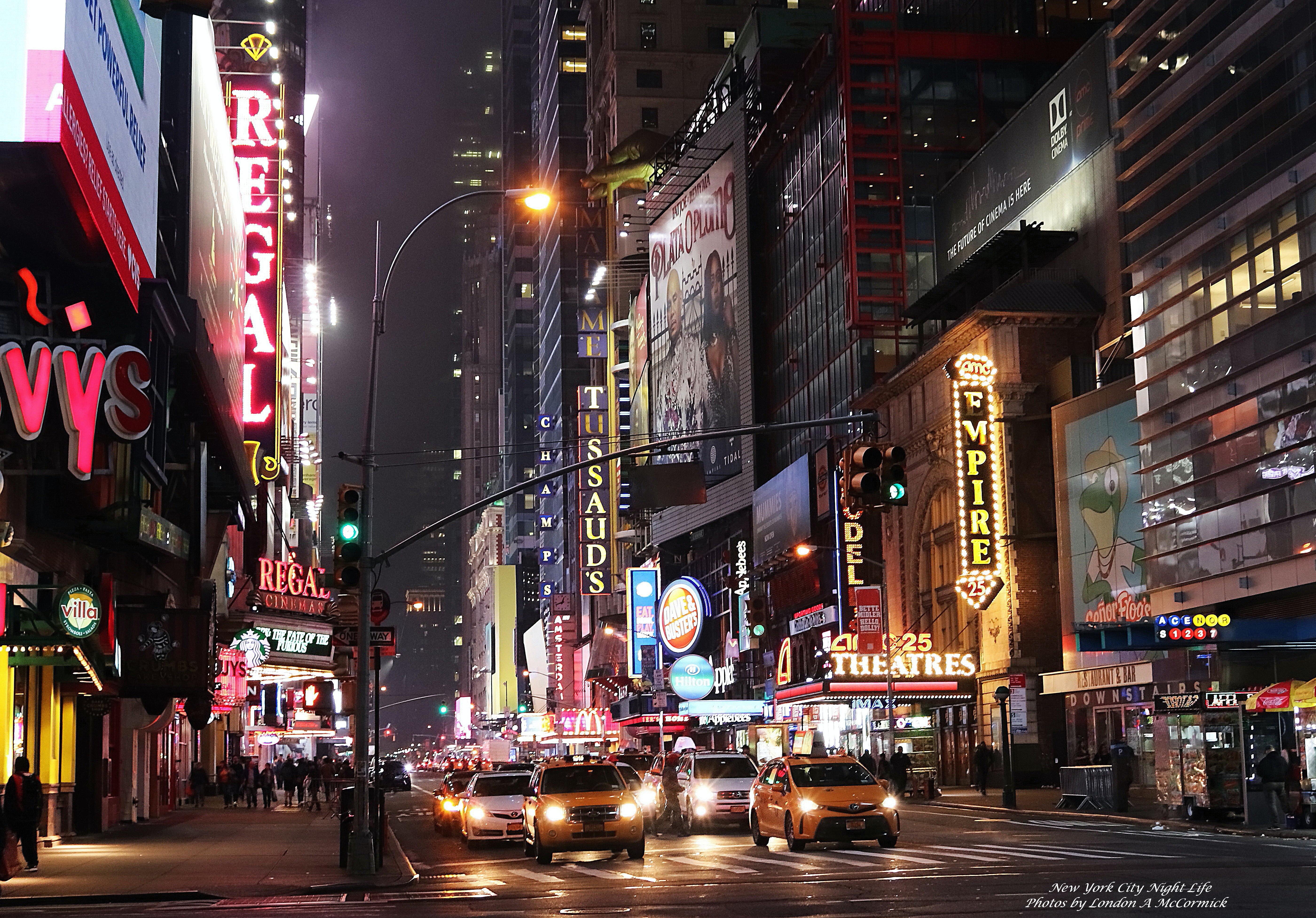 Free stock photo of abstract photo, city life, city lights