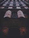 dark, building, vintage