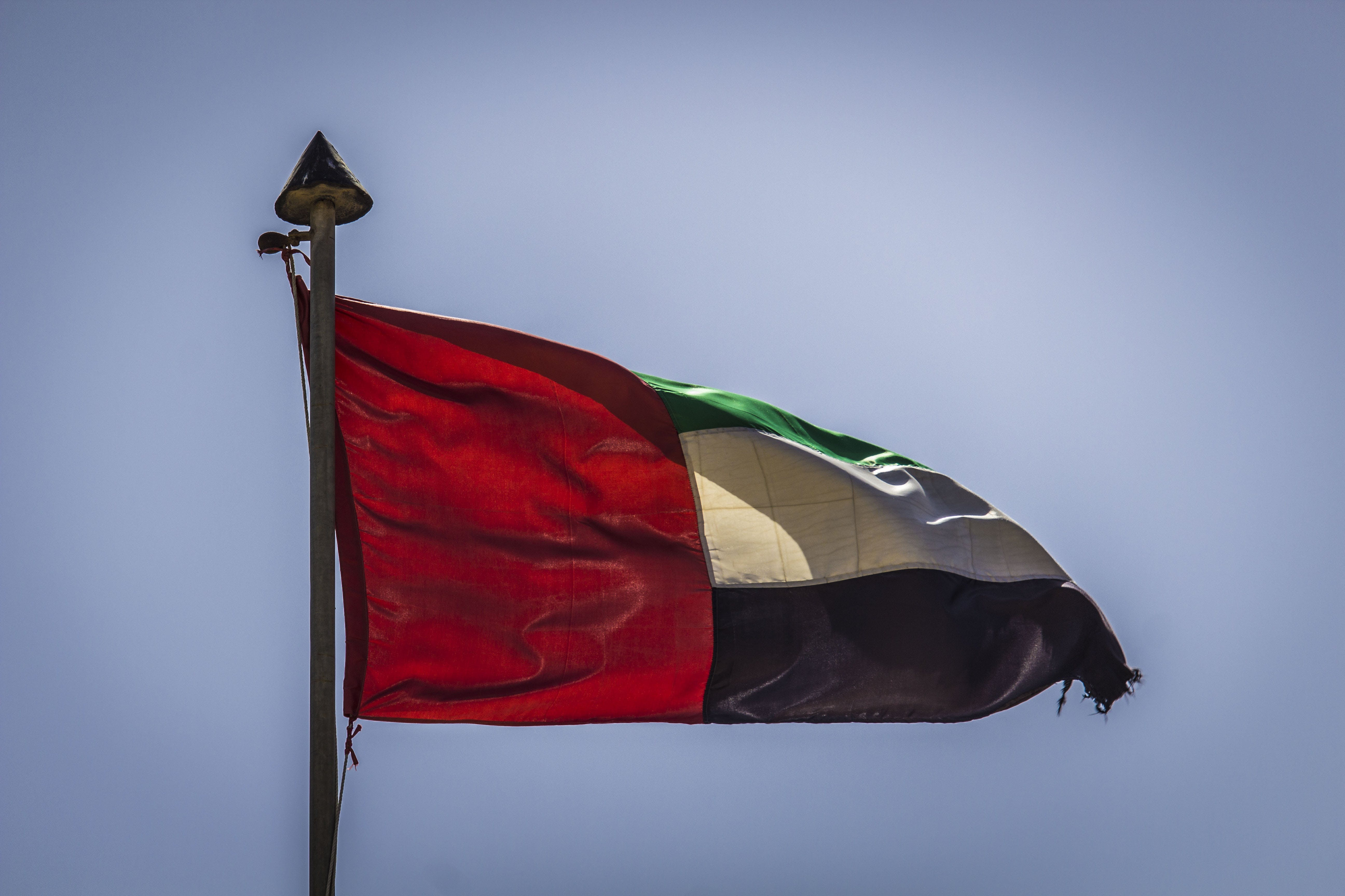 Free stock photo of dubai, united arab emirates, blu, nero