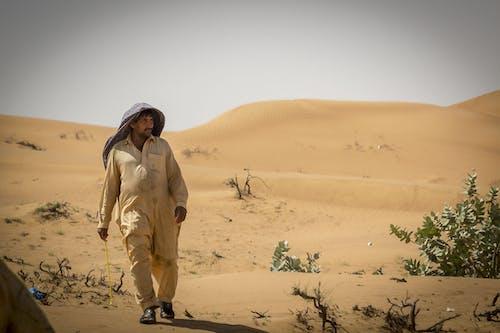 คลังภาพถ่ายฟรี ของ caldo, deserto, persone