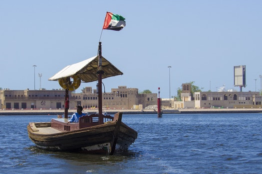 Free stock photo of dubai, blu, fiume, mare