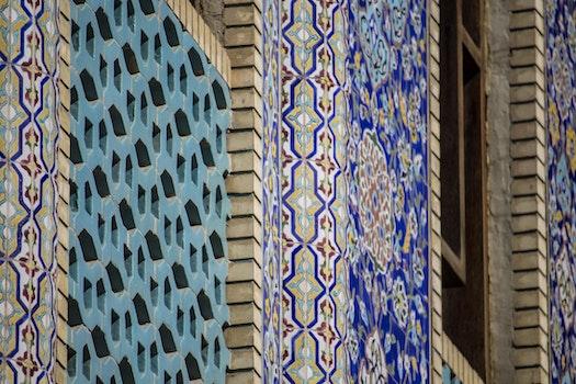 Free stock photo of dubai, united arab emirates, blu, viola