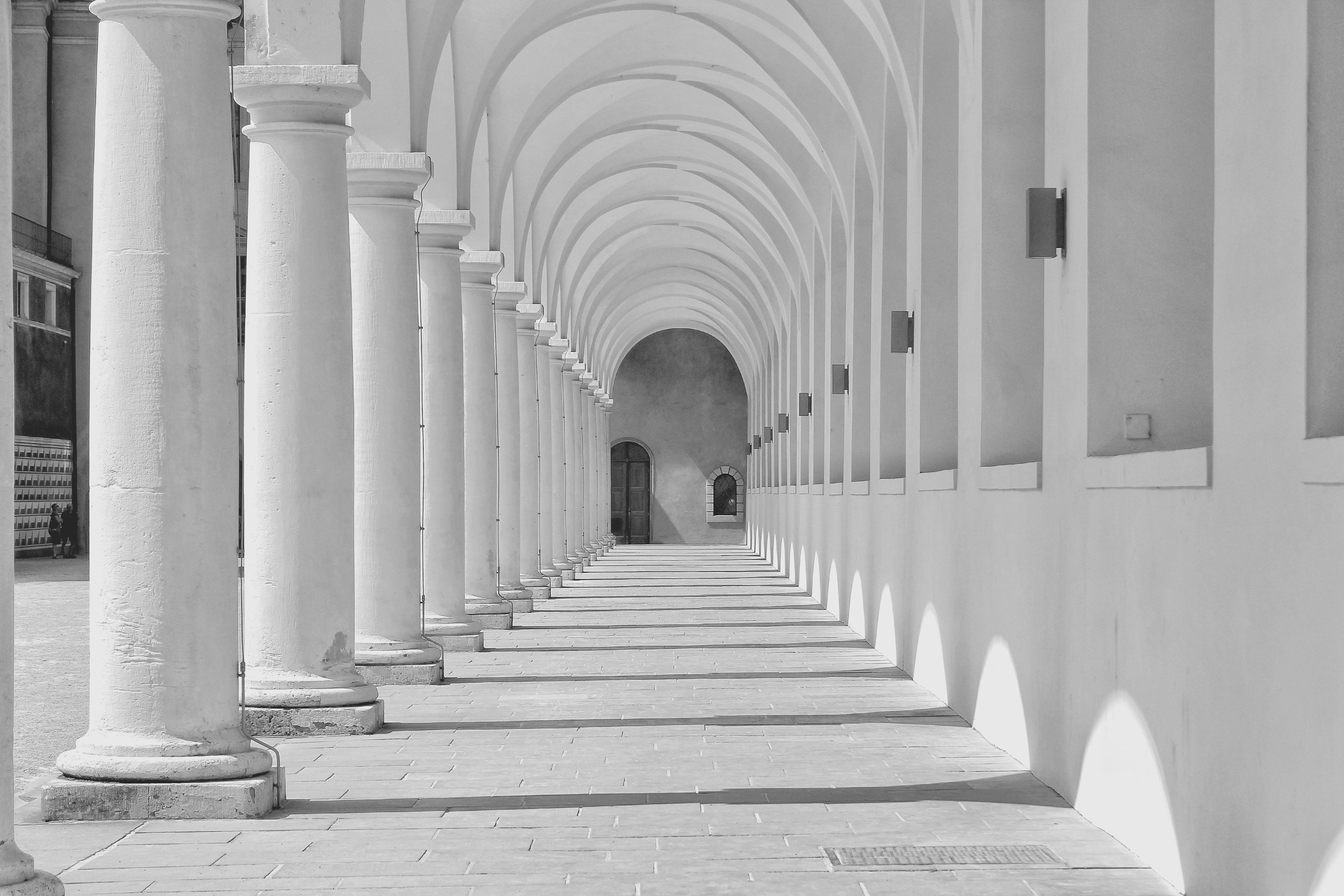 Free stock photo of city, Vecchio, archi, palazzo