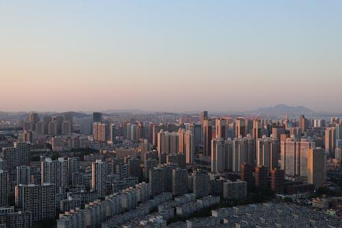 Gratis lagerfoto af antenne, by, bygninger, bylandskab