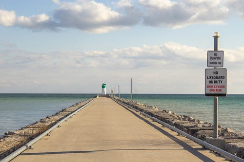 Free stock photo of lake, ocean, pier