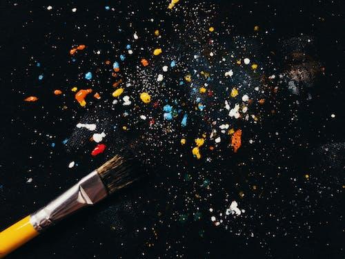Immagine gratuita di pennello per dipingere, pittura acrilica, schizzare