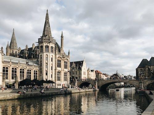 Kostenloses Stock Foto zu architektur, belgien, brücke, bruges