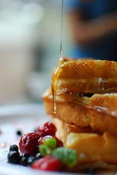 Free stock photo of bread, food, plate, sandwich