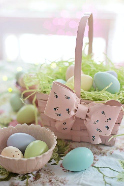 Eggs On A Basket