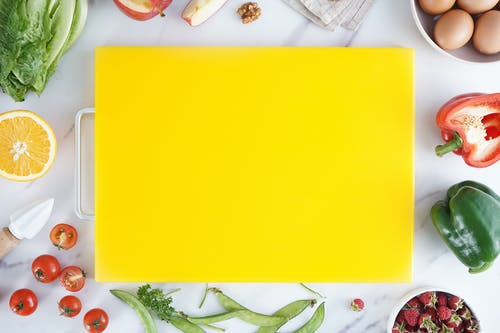 Yellow Chopping Board