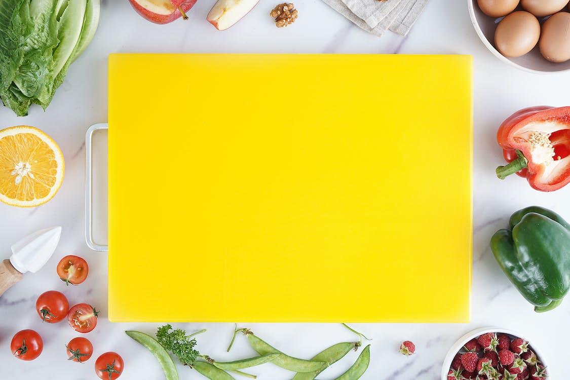 Yellow Chopping Board