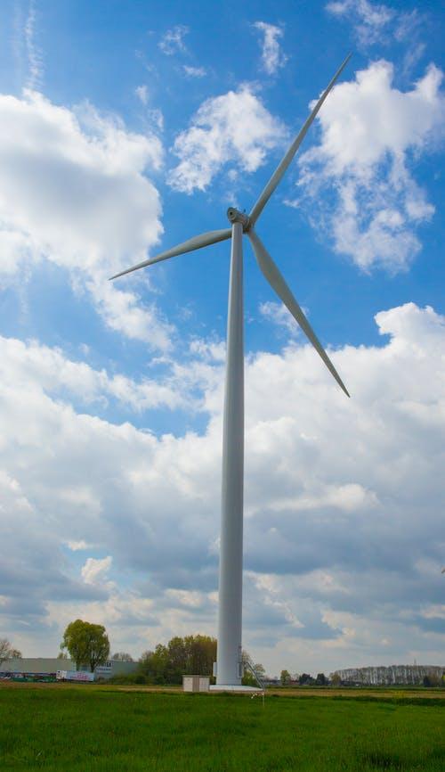 Foto d'estoc gratuïta de molí de vent