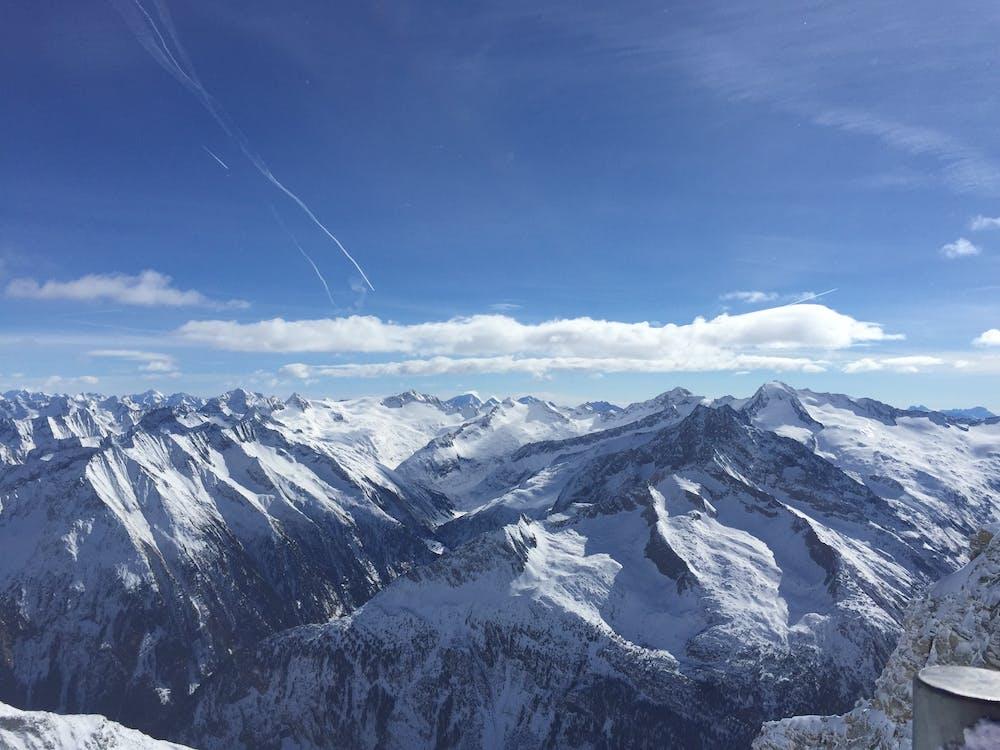 Luftaufnahme Der Bergkette