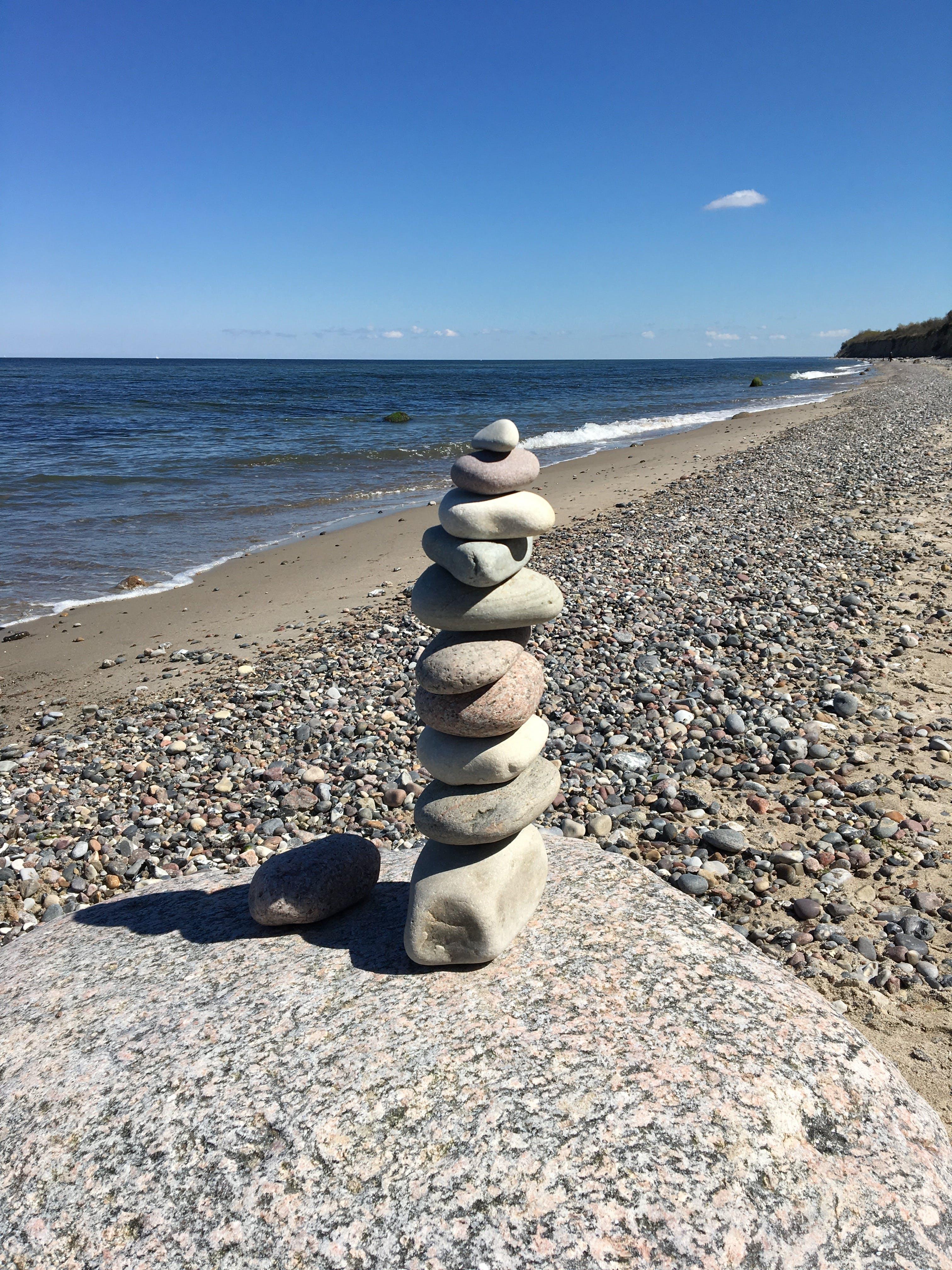 Free stock photo of Baltic Sea, beach, sea, stones