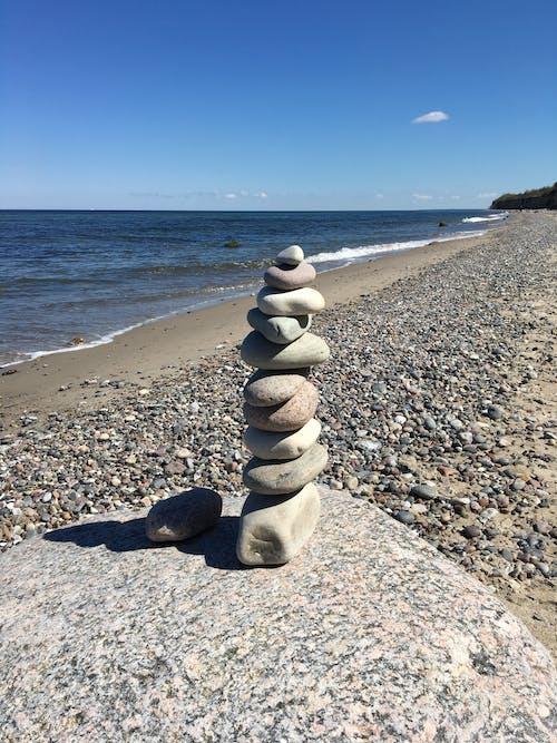 Foto d'estoc gratuïta de mar, Mar Bàltic, pedres, platja
