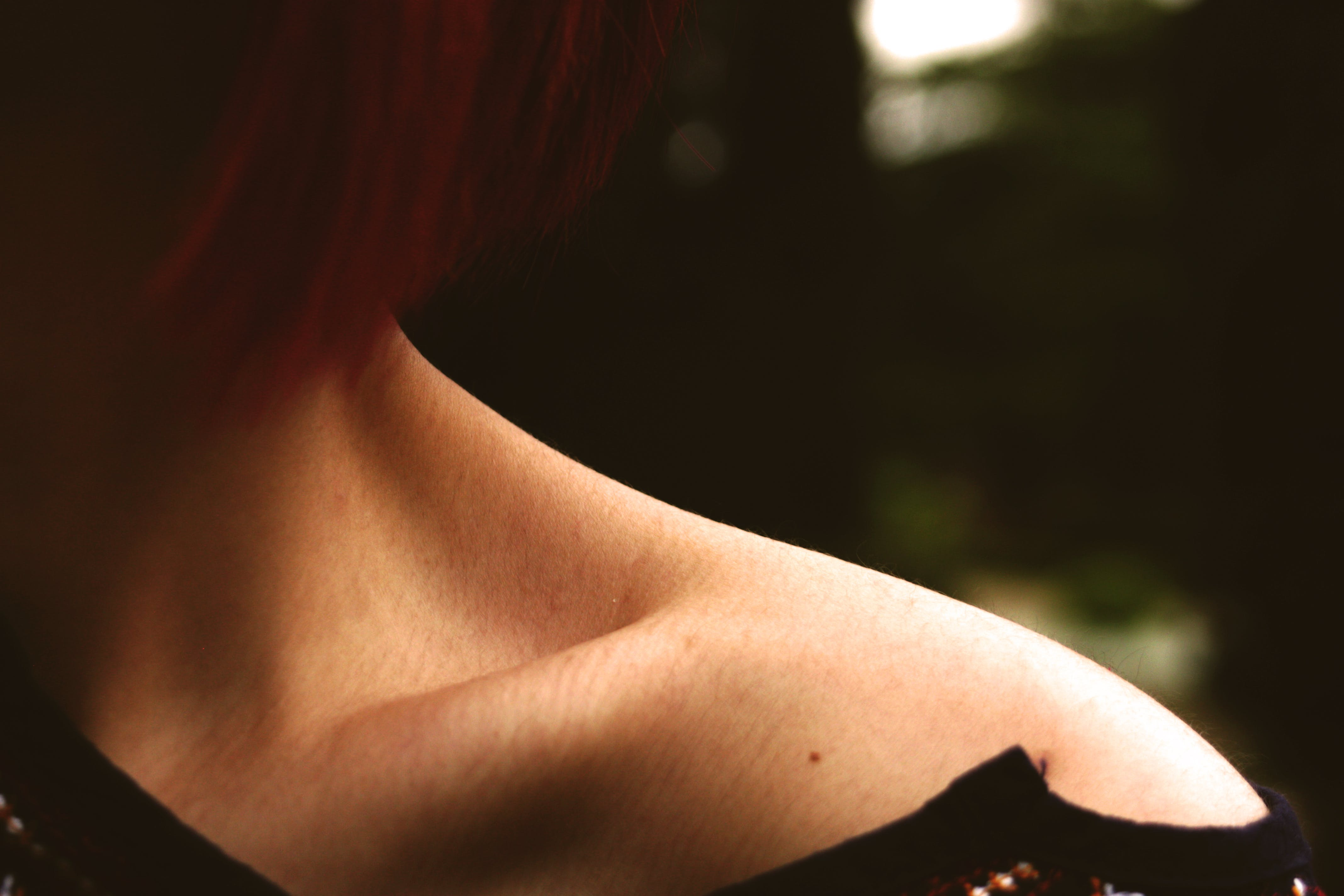 Free stock photo of emotions, girl, neck