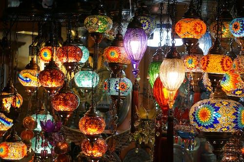 Free stock photo of authentic, gaziantep, lamp, light