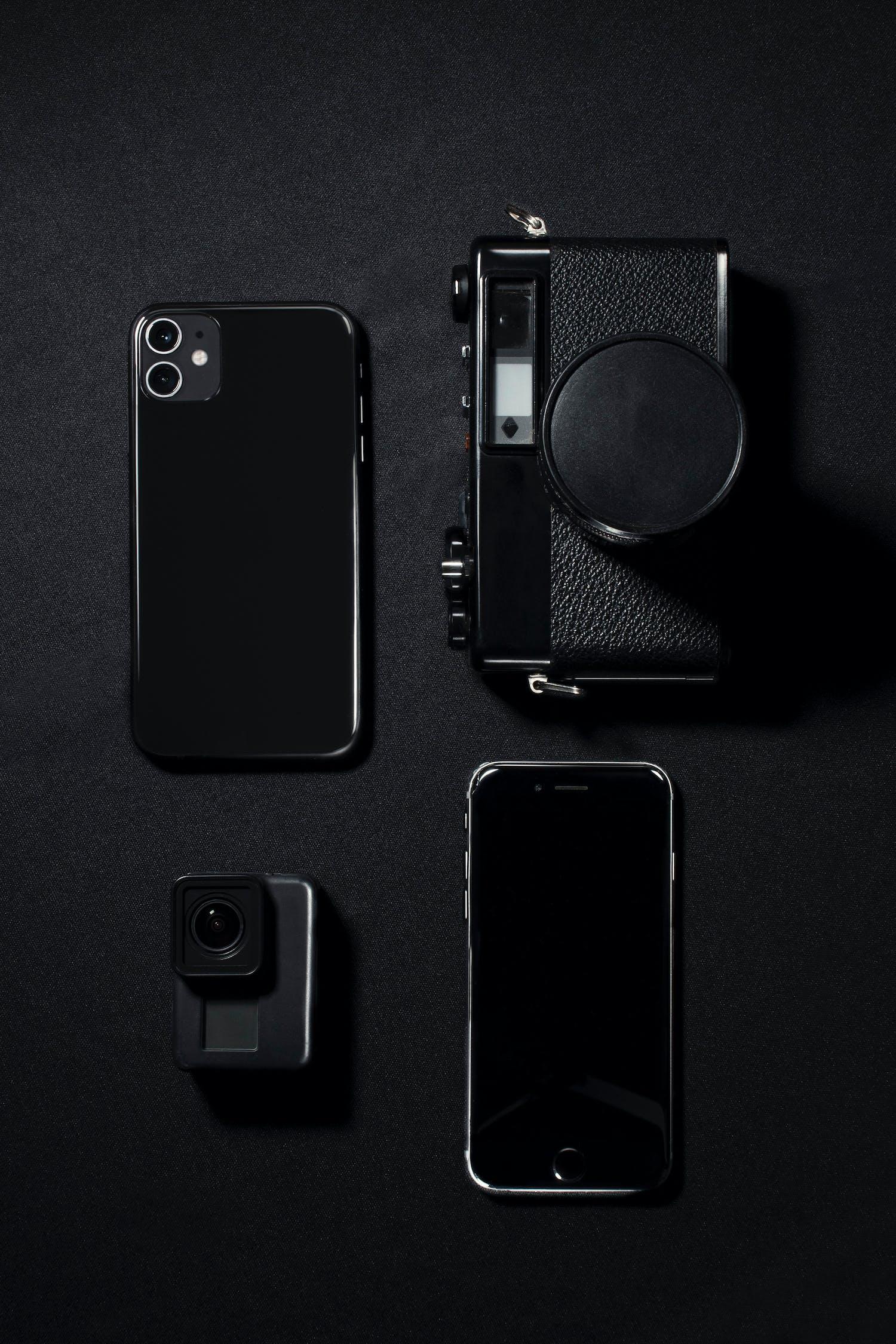 smartphones und Kameras