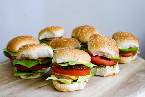 Photos gratuites de aliments, burger de boeuf, cheeseburger, des hamburgers