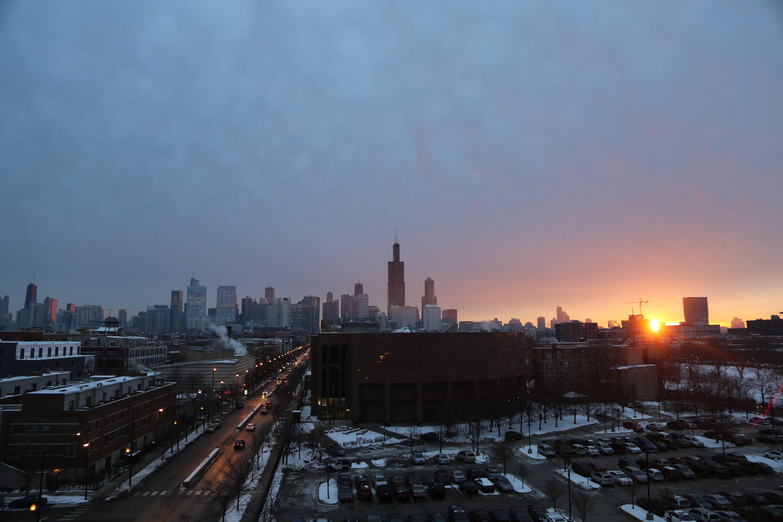 Free stock photo of Chicago Sunrise