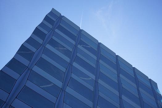 Kostenloses Stock Foto zu himmel, architektur, fenster, reflektierung