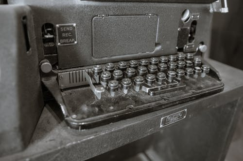 Free stock photo of equipment, tele type, teletype, train