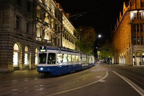 有軌電車線路, 老鎮, 苏黎世, 電車 的 免费素材照片
