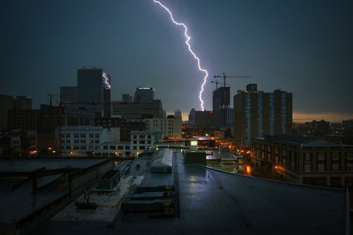Photo Of A Lightning Strike