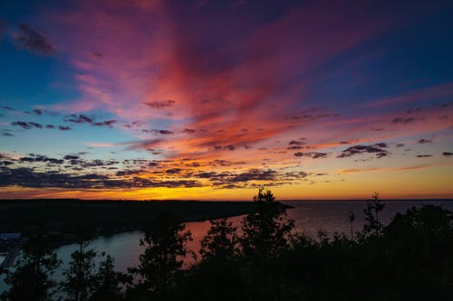 日落 的 免费素材照片