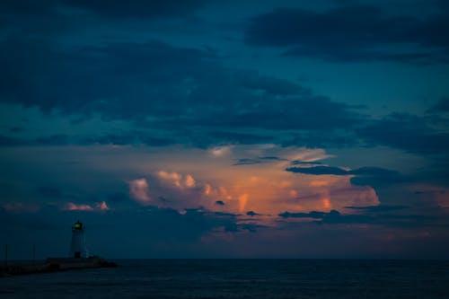打電, 日落, 暴風雨 的 免费素材照片