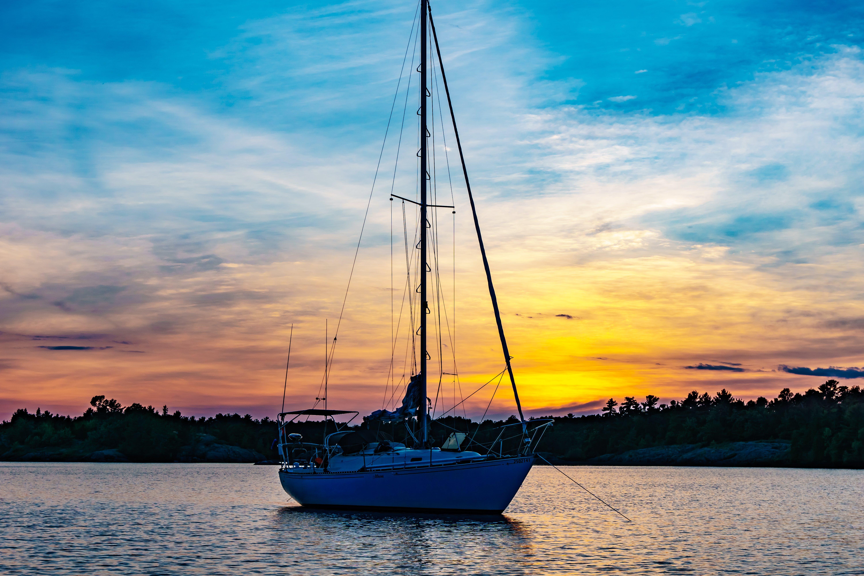 Free stock photo of beach, boat, dawn, leisure