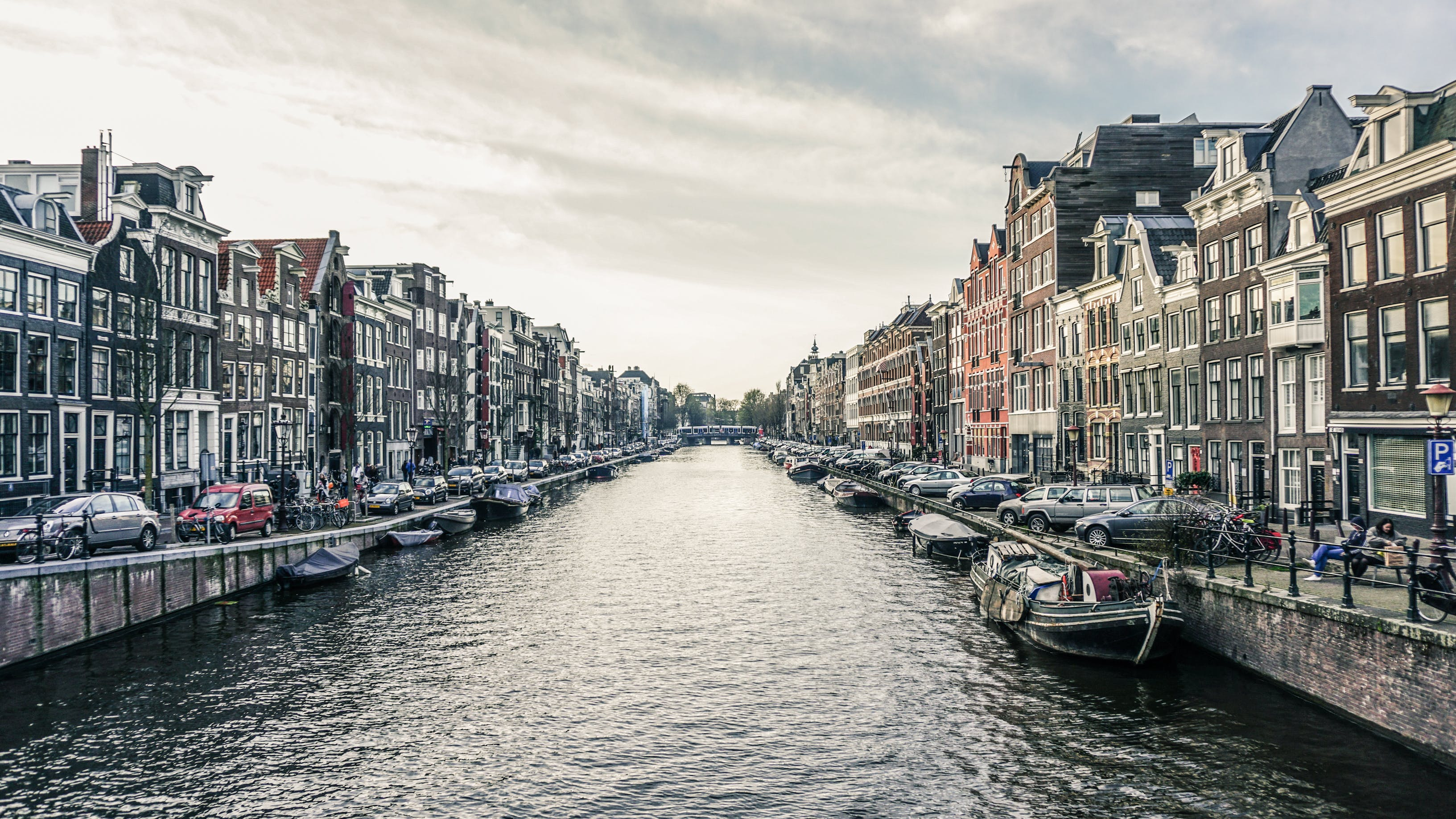 Free stock photo of amsterdam, canal, city, city-challenge