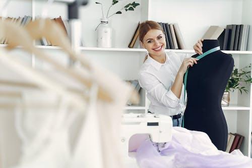 Dressmaker with Her Mannequin