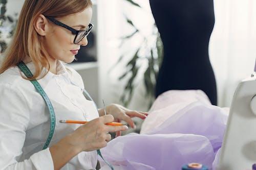Dressmaker at Her Workshop