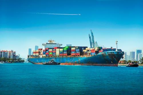 Free stock photo of bay, bay area, cargo, cargo ship