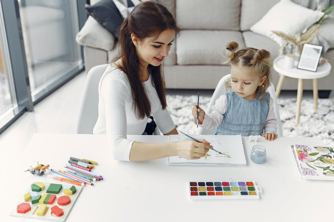 Painting with Family