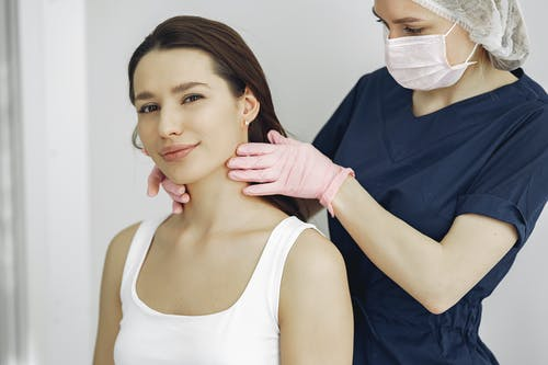 Woman Getting a Check-up