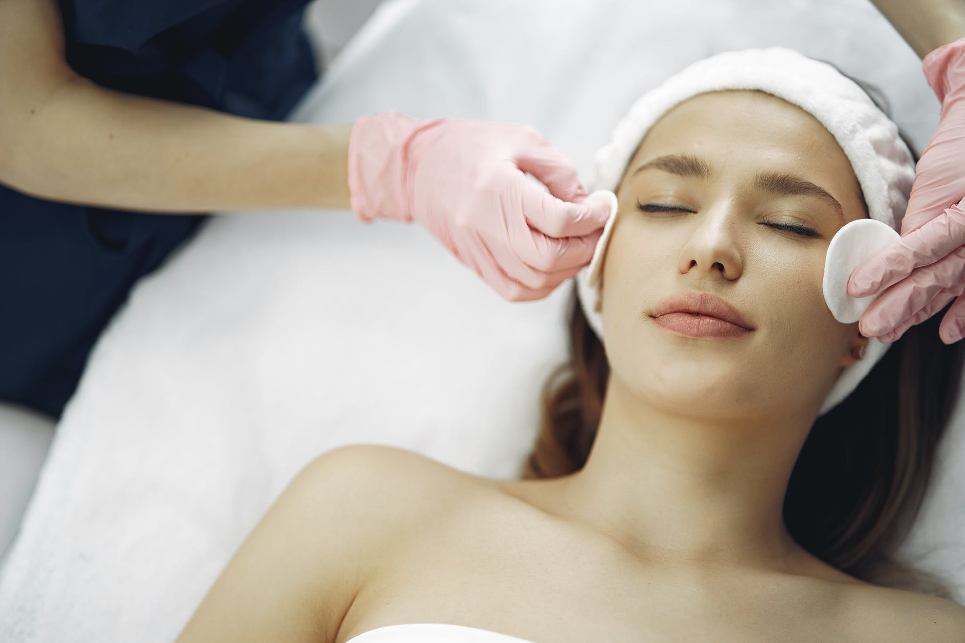 oxygen facial whitening skin