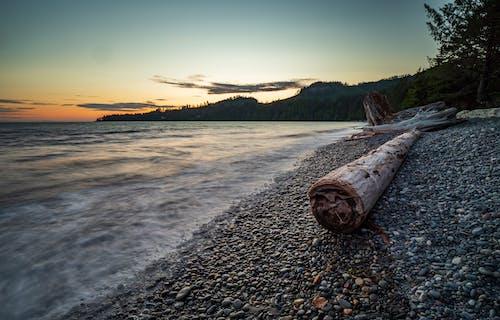 Δωρεάν στοκ φωτογραφιών με juan de fuca, rock, seaspan ηλιοβασίλεμα, Surf
