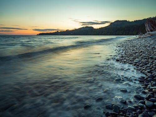 Δωρεάν στοκ φωτογραφιών με juan de fuca, rock, seaspan ηλιοβασίλεμα, ακρωτήριο
