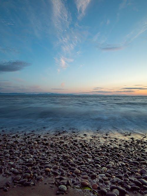 Δωρεάν στοκ φωτογραφιών με juan de fuca, rock, seaspan ηλιοβασίλεμα, ακτή