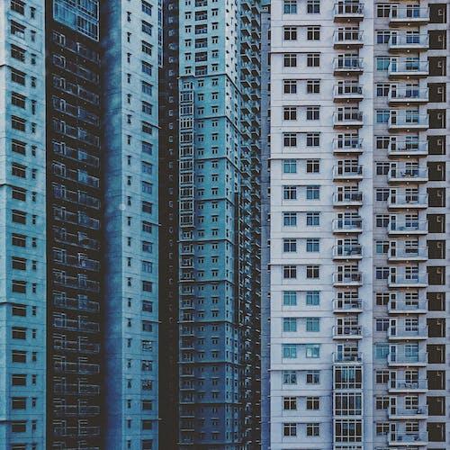 Δωρεάν στοκ φωτογραφιών με αρχιτεκτονική, διαμερίσματα, κέντρο πόλης, κτήρια